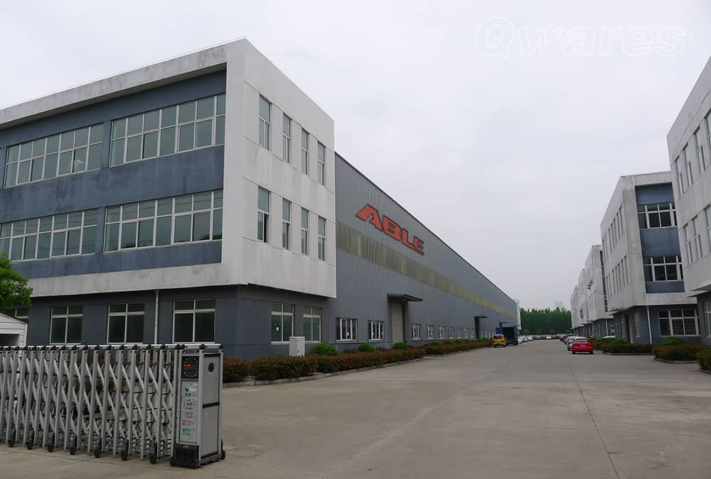 Qwares® Metal Fabrication Factory in China